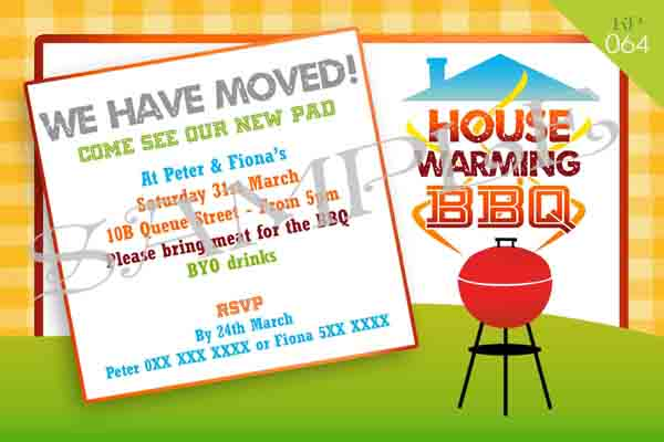 Housewarming Bbq Invitation Kydepiperdesigns Co Nz Miscellaneous Invites